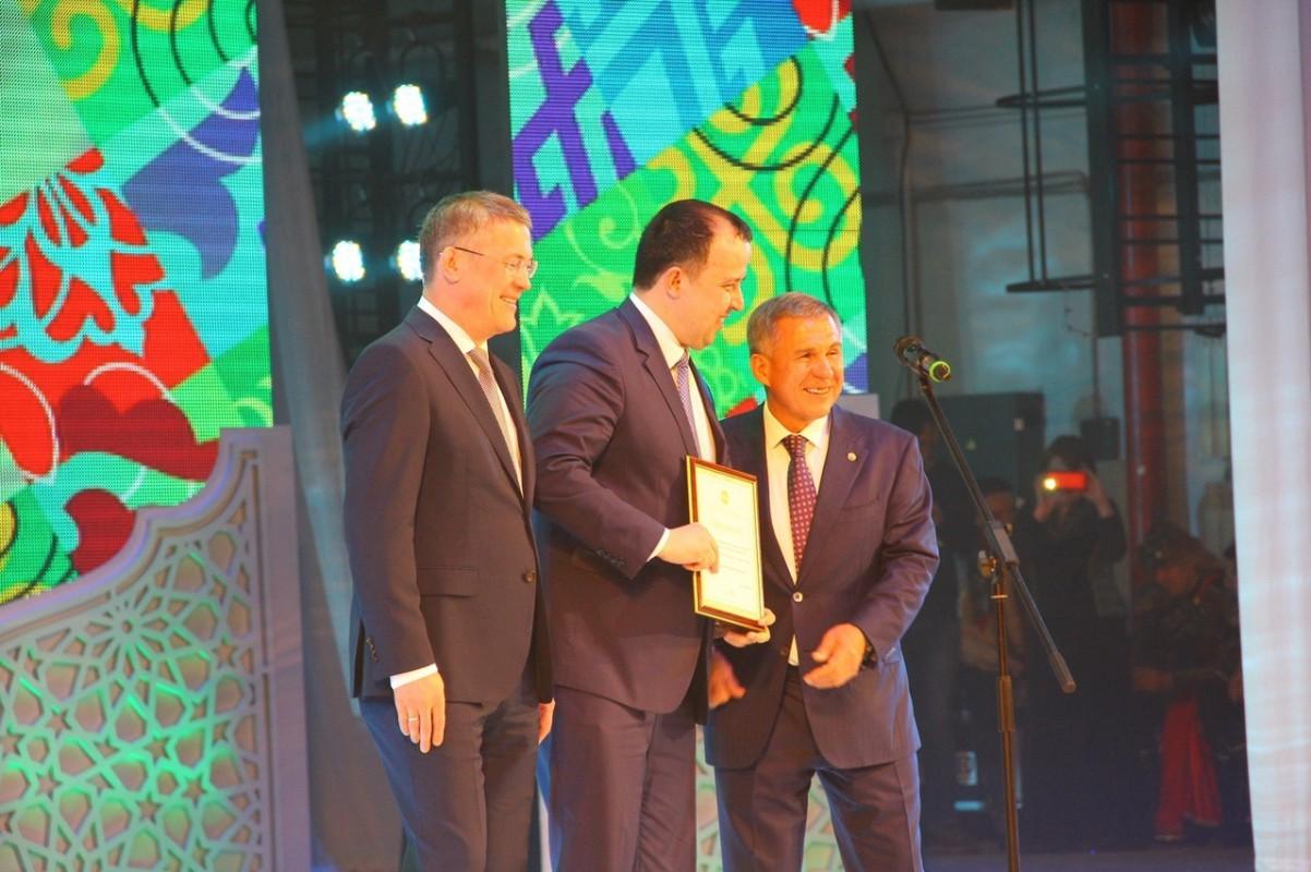 Член Совета ОПОРЫ Комил Сиразетдинов удостоен благодарности Президента.