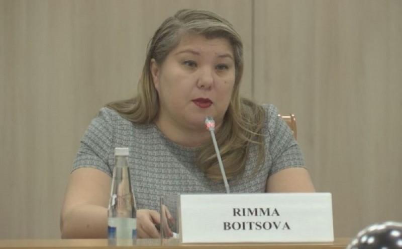 Председатель Государственного комитета РБ по предпринимательству Бойцова Р.Ю отмечает свой день рождения!